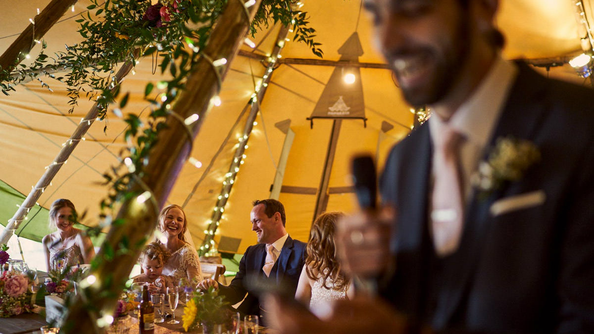 Yorkshire Tipi Wedding Photographer