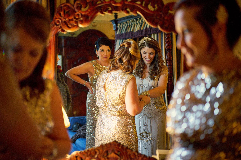 Trevor Hall Bride & Bridesmaids