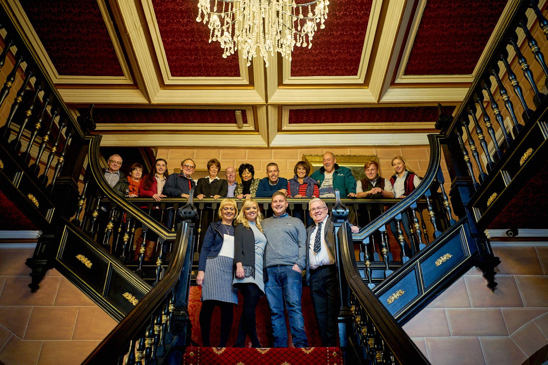 Maenan Abbey Stair Case