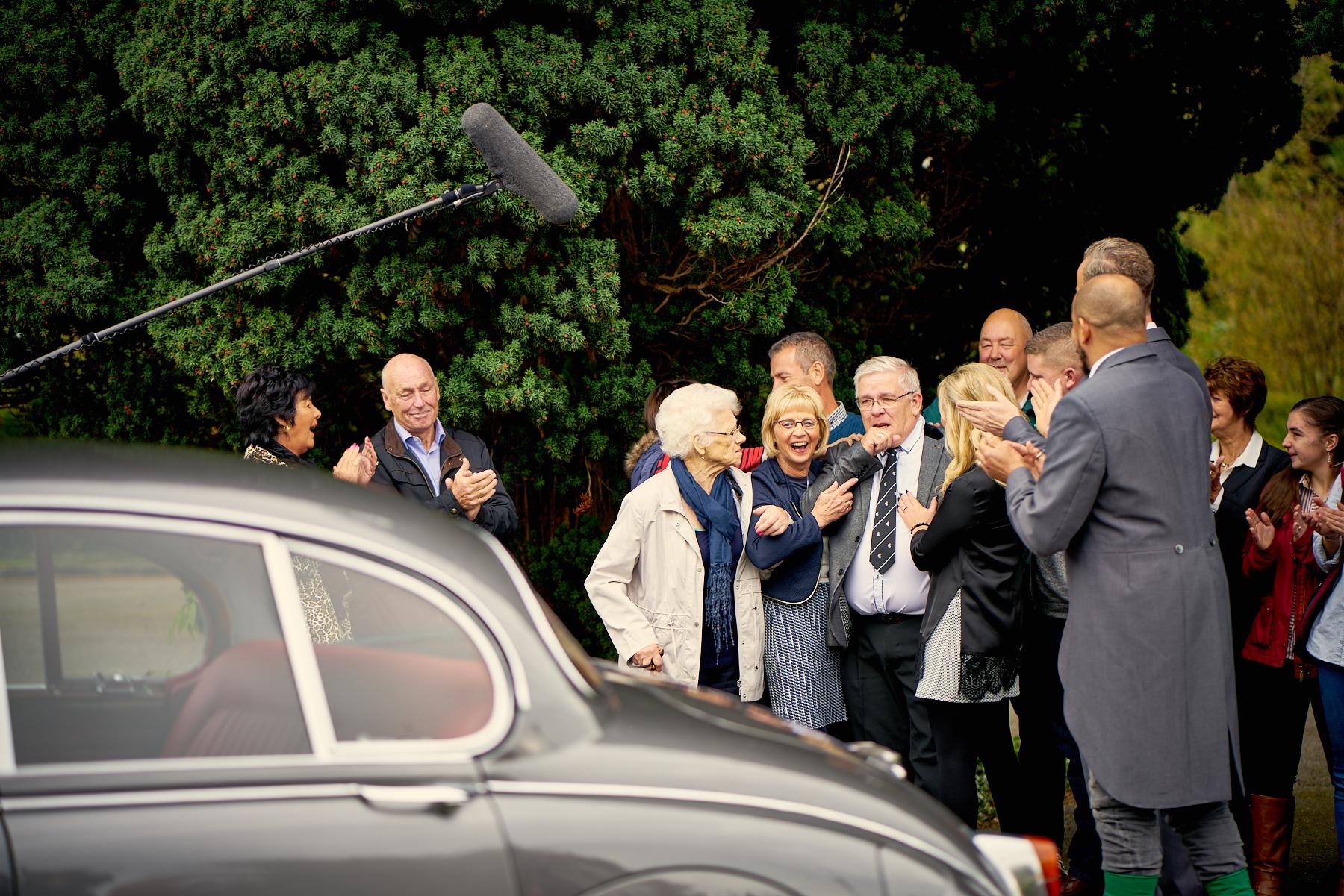 Restored Jaguar Mk 2 revealed to owner