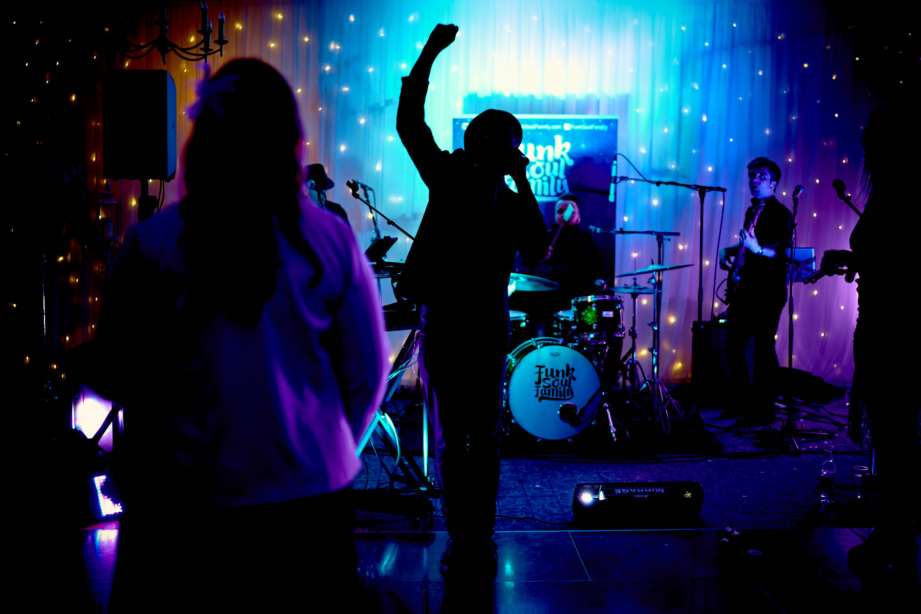 Funk Soul Family Performing at Lancashire Wedding