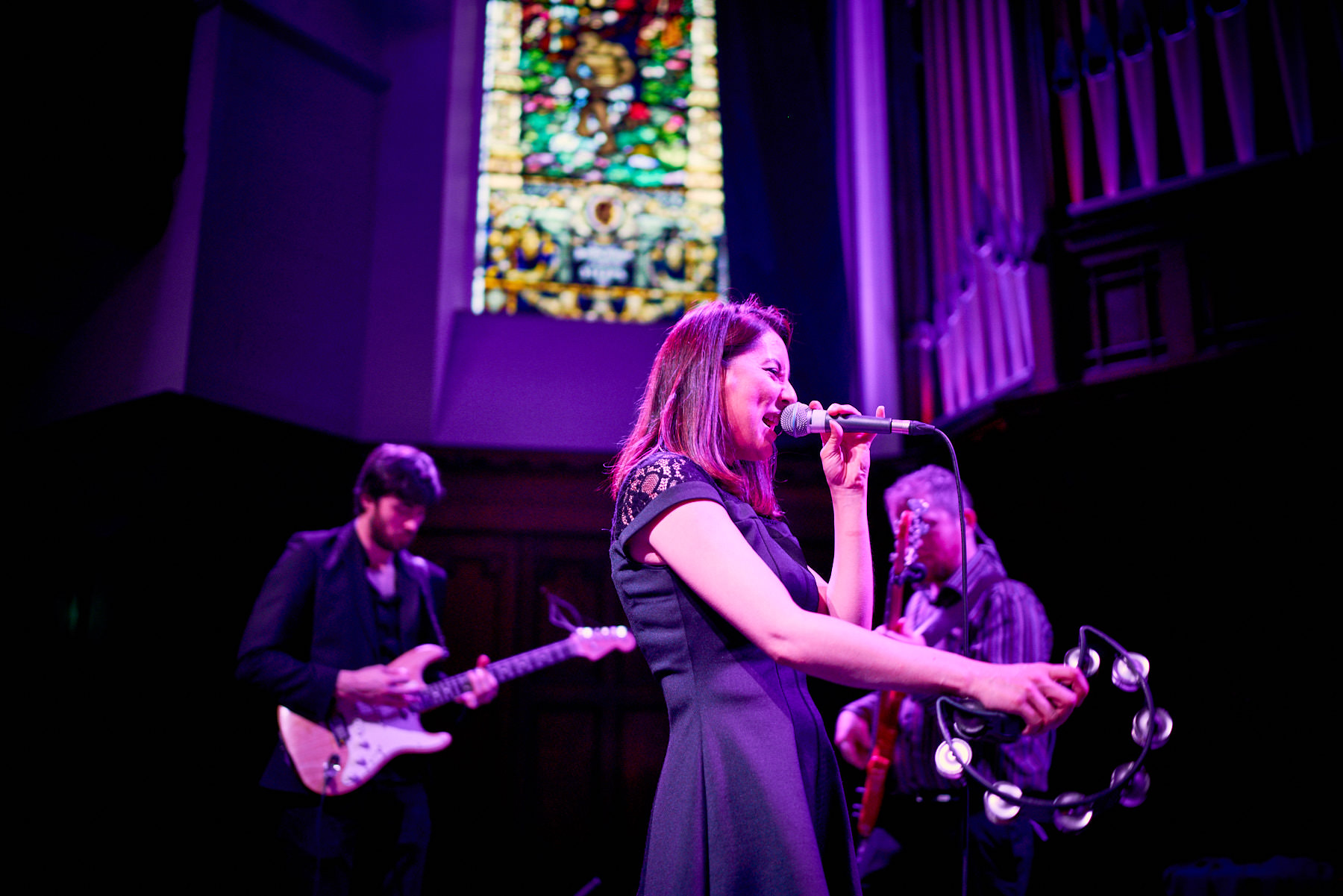 Chasing Light Performing at Glasgow Wedding