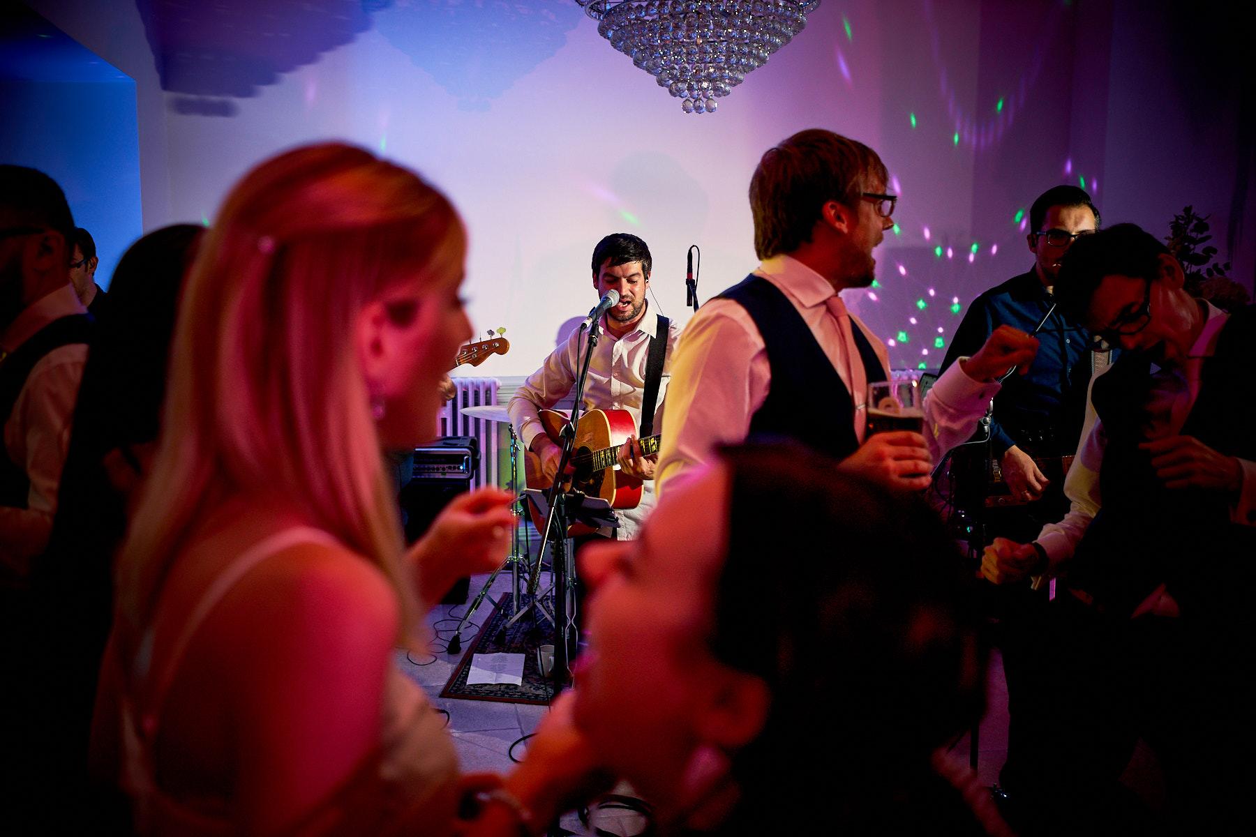 Marc Kenny playing live at Llangollen Wedding