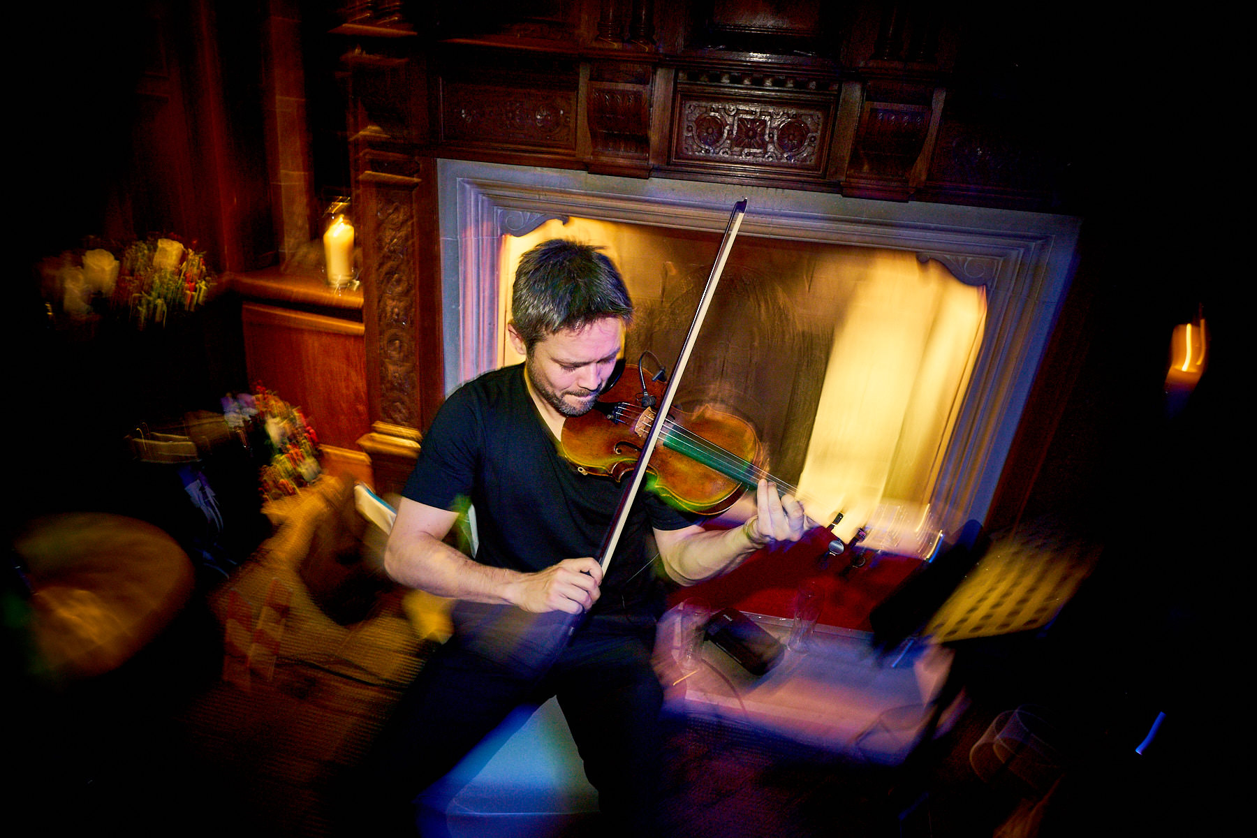 Triple Scotch Ceilidh Band performing live at Inglewood Manor