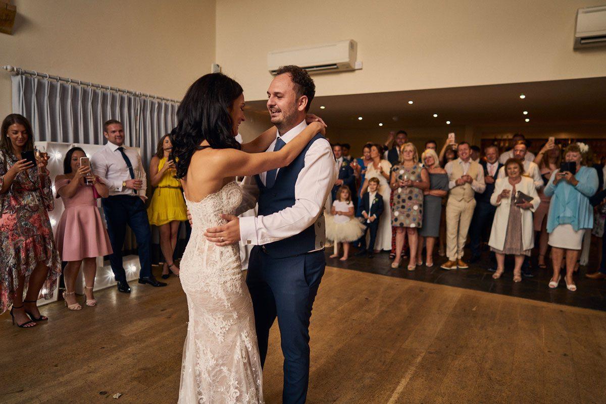 first dance at Millbridge Court