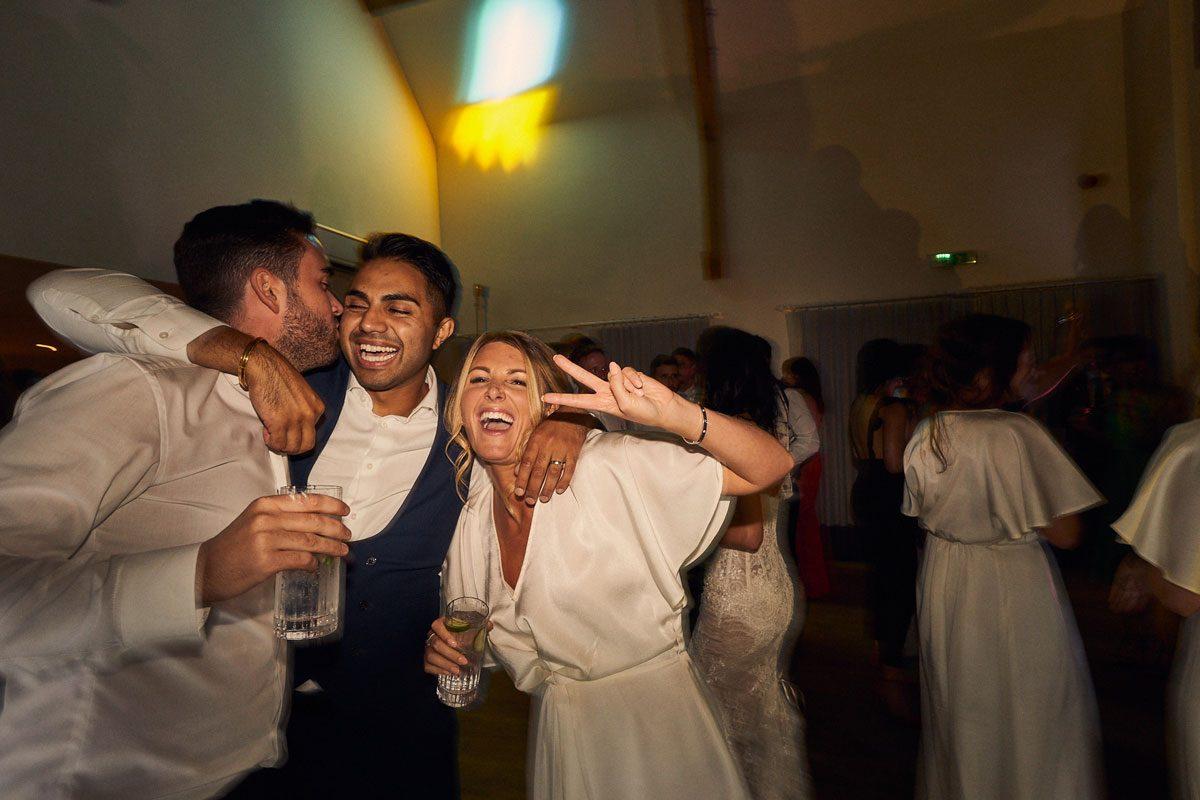 drunk wedding guests
