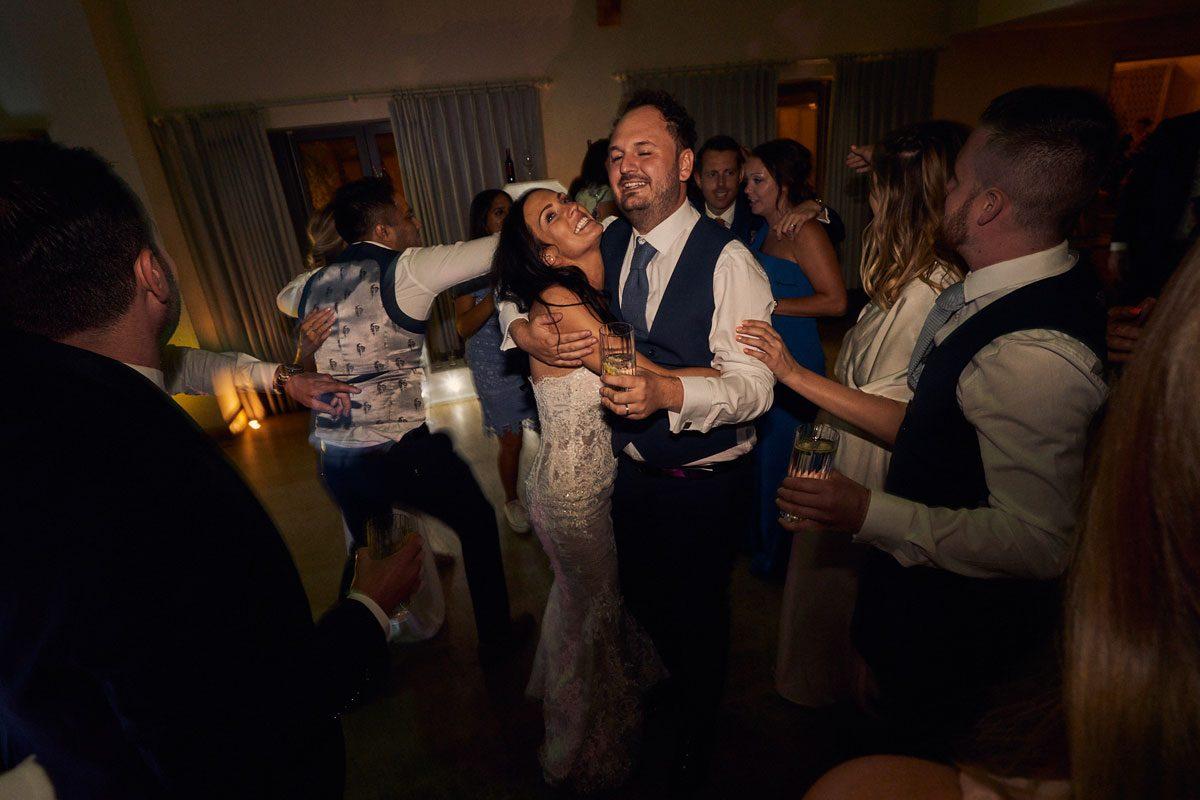 Bride & Groom having their last dance