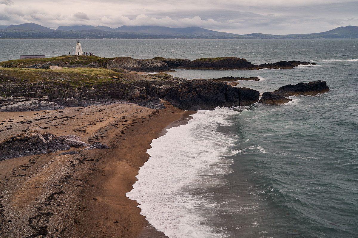 Light house at Llanddwyn Island (Goleudy Tŵr Bach)