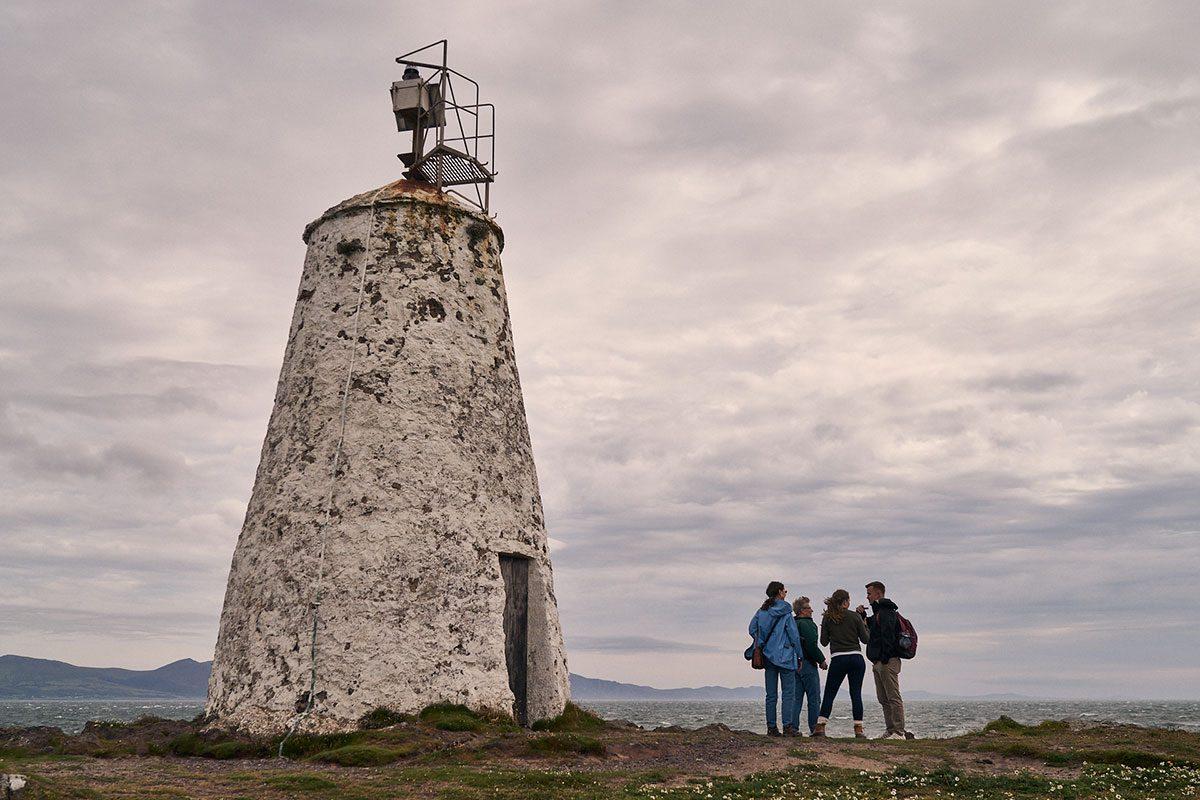Goleudy Tŵr Bach Lighthouse on Llanddwyn Island