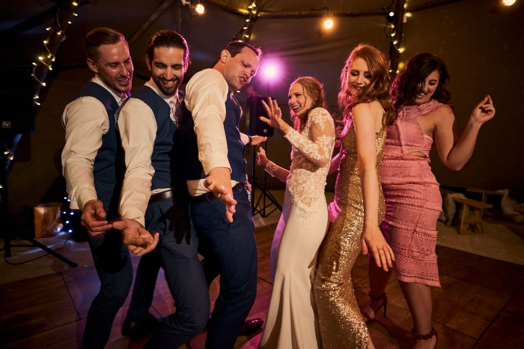 Harrogate Wedding & Event DJ playing Yorkshire wedding