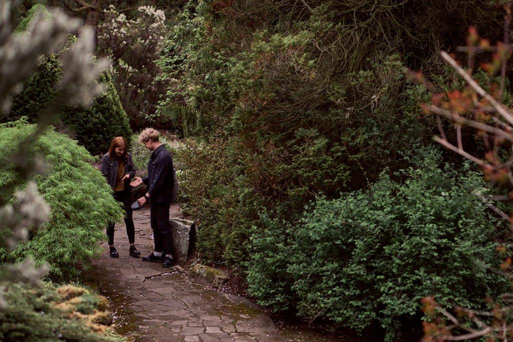 Surprise proposal in Fletcher Moss Park