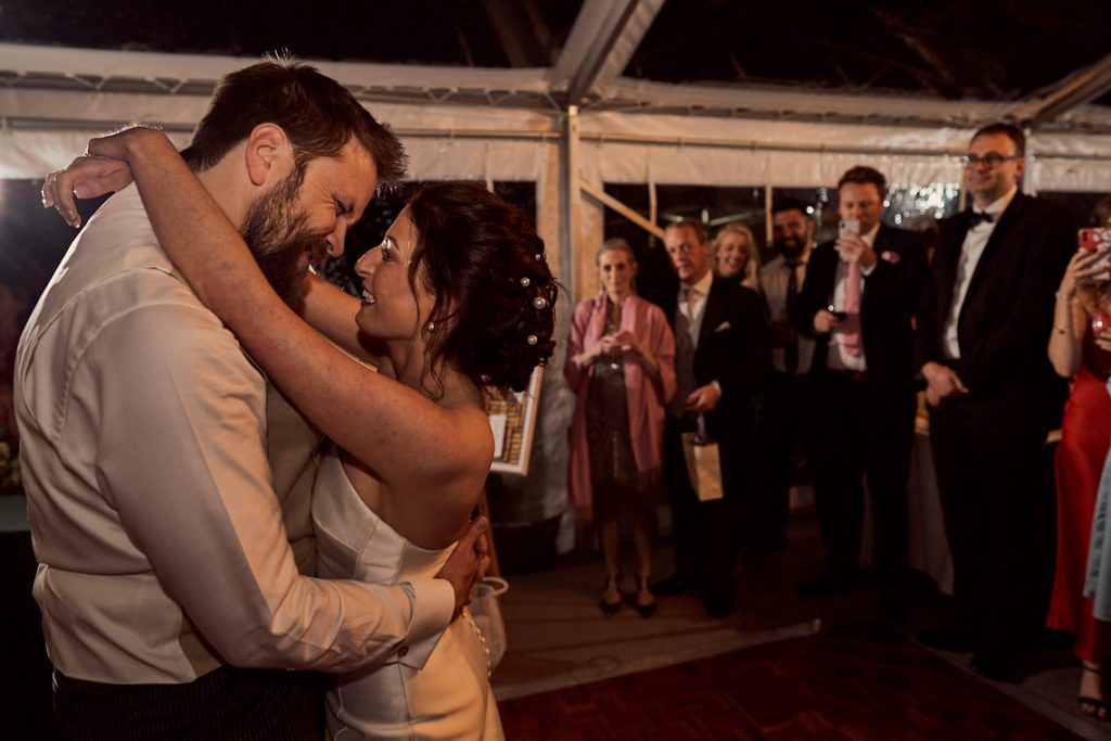 first dance at Pump House Gallery in Battersea park