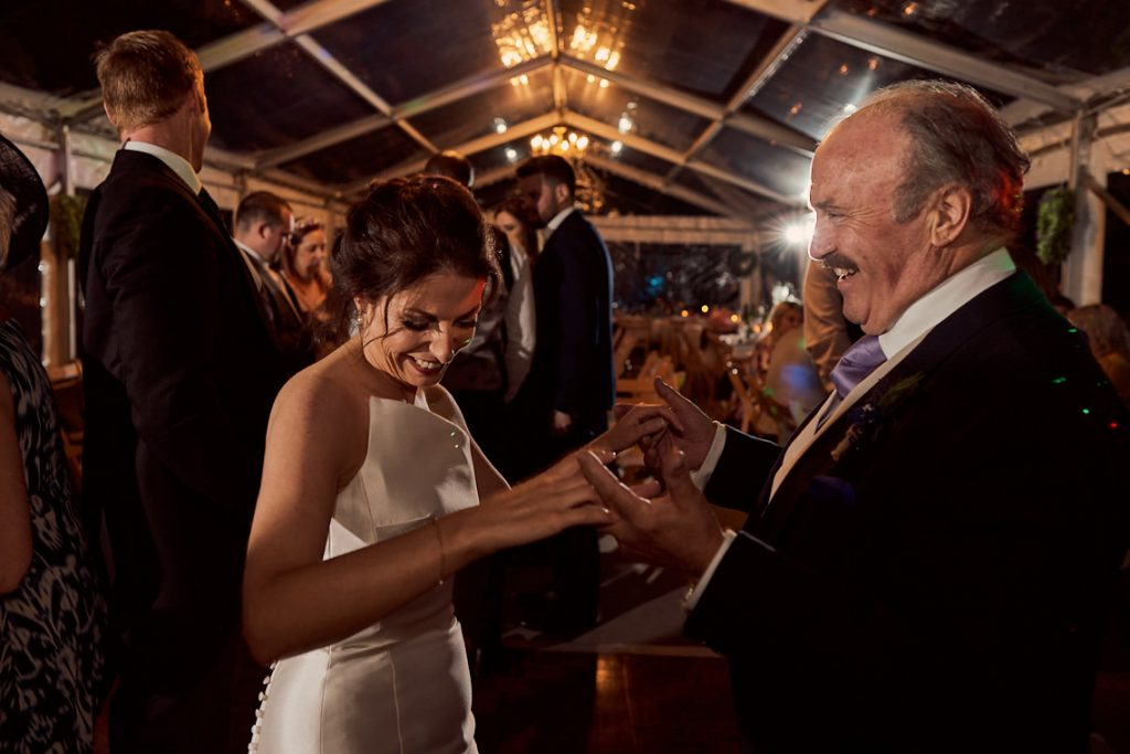 father of the bride dancing with his daughter