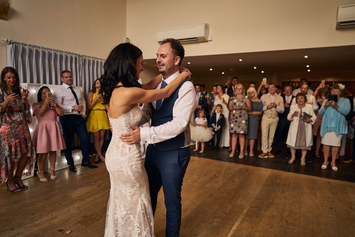 first dance at Millbridge Court