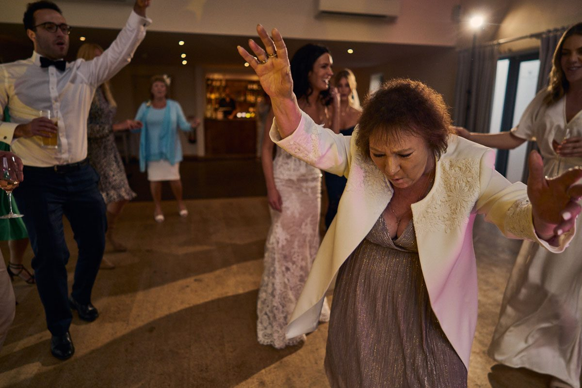 grandma dancing at wedding