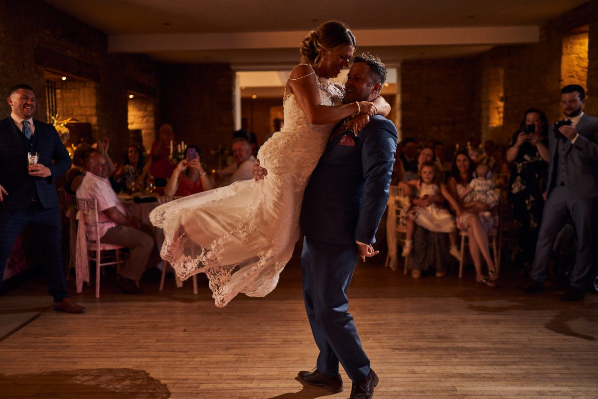 first dance at the great tythe barn