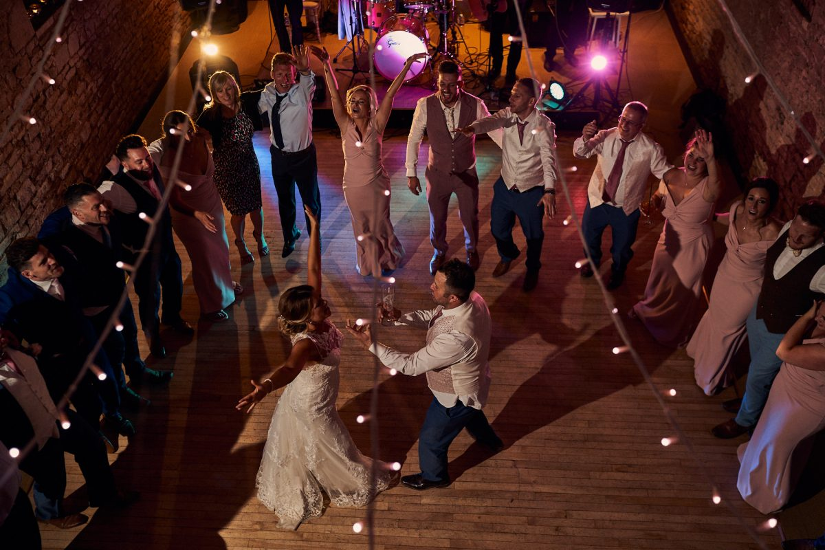 last dance of the evening at The Great Tythe Barn