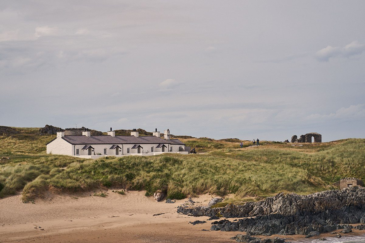 Pilot's Cottages on Llanddwyn Island