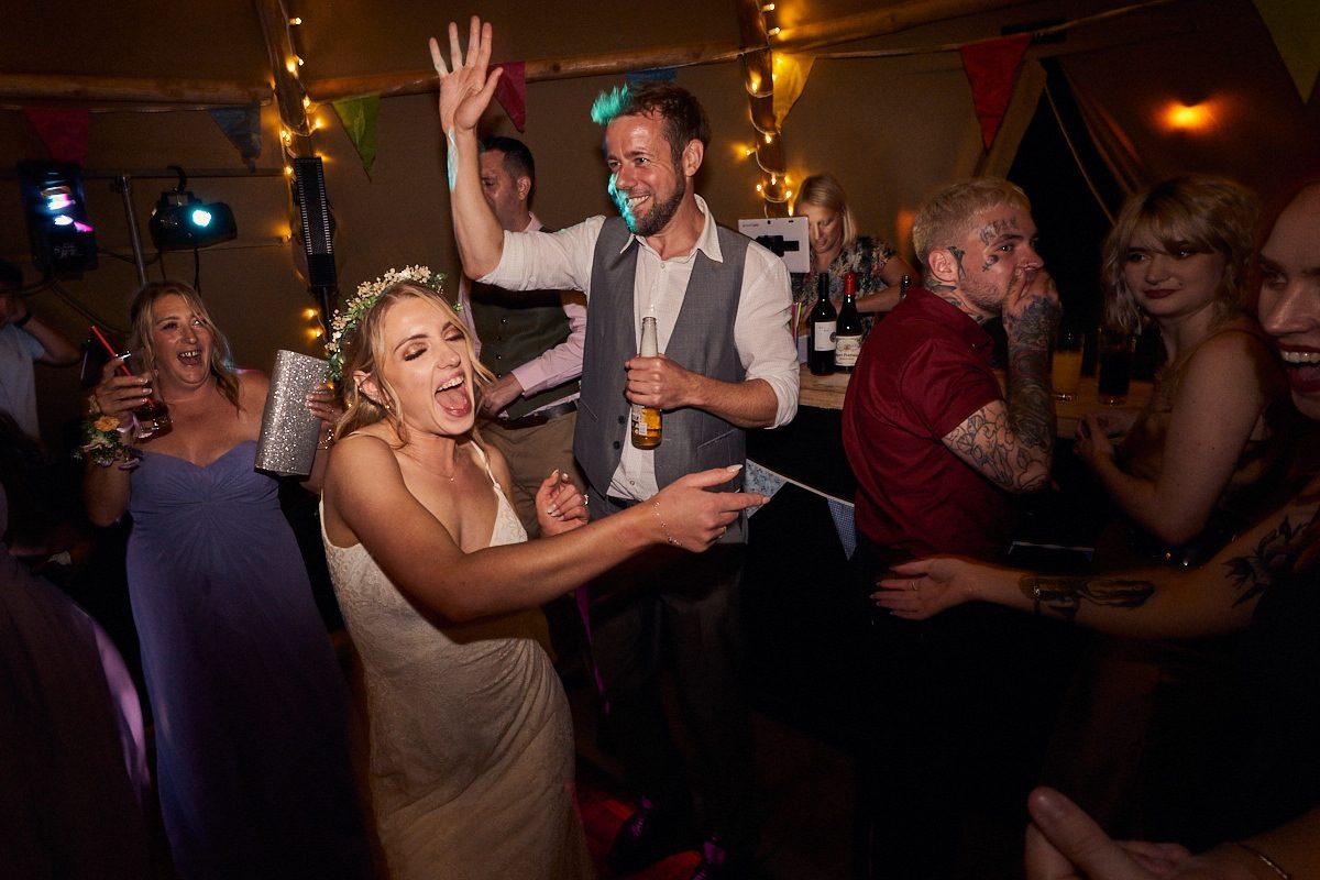 bride dancing and singingbride dancing and singing